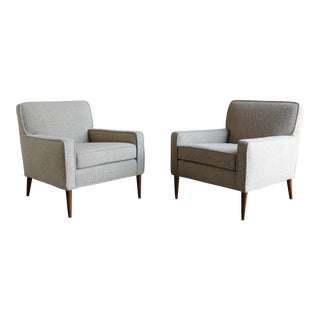 Paul McCobb Model #3022 Lounge Chairs - A Pair