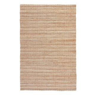 Jaipur Living Cornwall Natural Striped Beige/ Blue Runner Rug - 2′6″ × 9′ For Sale