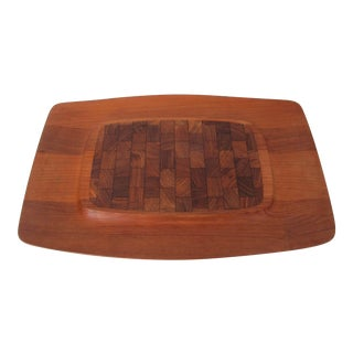 Dansk Teak Serving Tray by Jens Harald Quistgaard For Sale