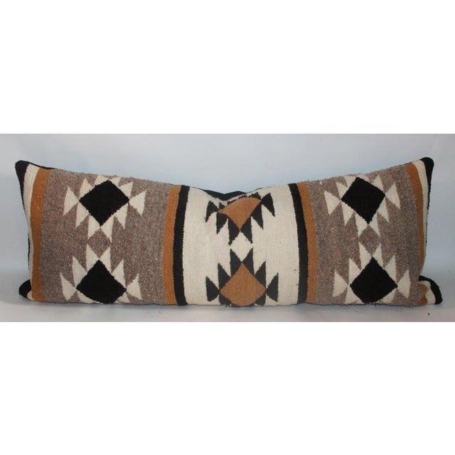Boho Chic Chinle Navajo Indian Weaving Pillows - Collection of 4 For Sale - Image 3 of 8