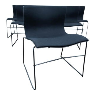 6 Massimo Vignelli Handkerchief Dining Chairs by Knoll For Sale
