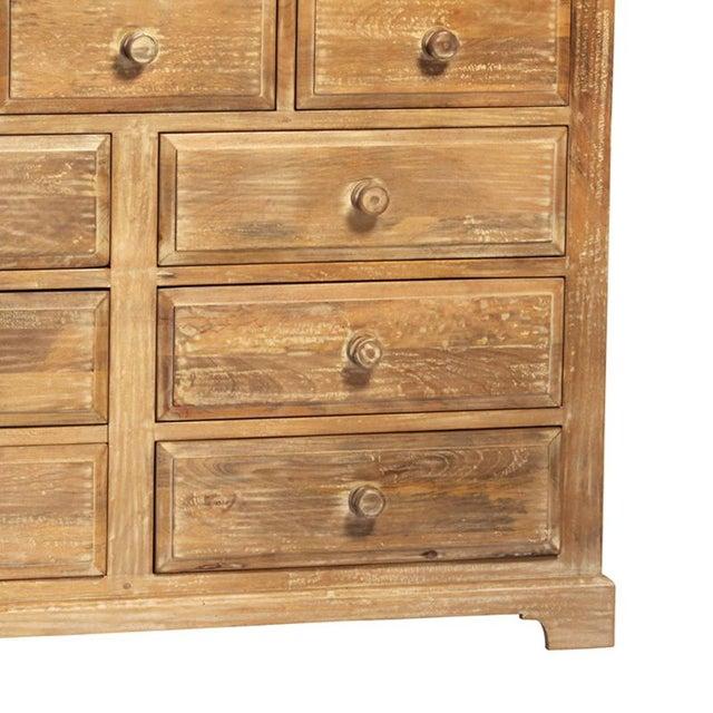 Nine Drawer Hardwood Dresser - Image 2 of 2