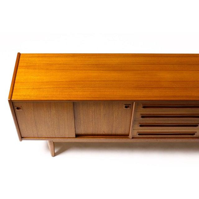 1960s Scandinavian Jens Ærthøj Teak Credenza/Sideboard For Sale - Image 9 of 11