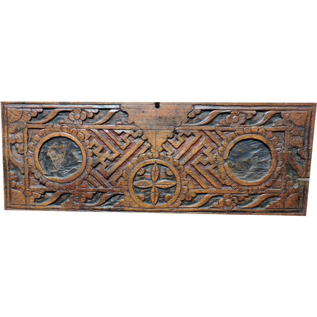 Asian Indonesian Wooden Box For Sale - Image 3 of 5
