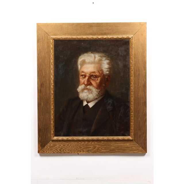 19th-C. Painting, Scholar - Image 2 of 4
