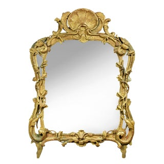 Louis XV Giltwood Mirror For Sale