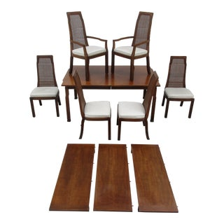 20th Century Chinoiserie Dining Set - 7 Pieces For Sale