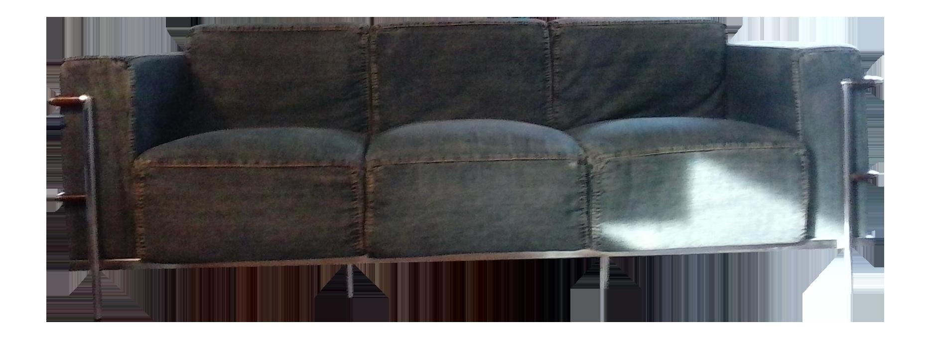 Zuo Modern Lasso Denim Sofa   Image 1 Of 6