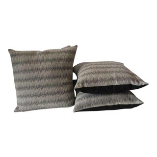 Pair of Soft Wool Indian Weaving Pillows For Sale