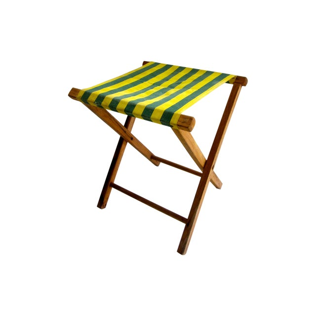Folding Wood Camping Stool For Sale