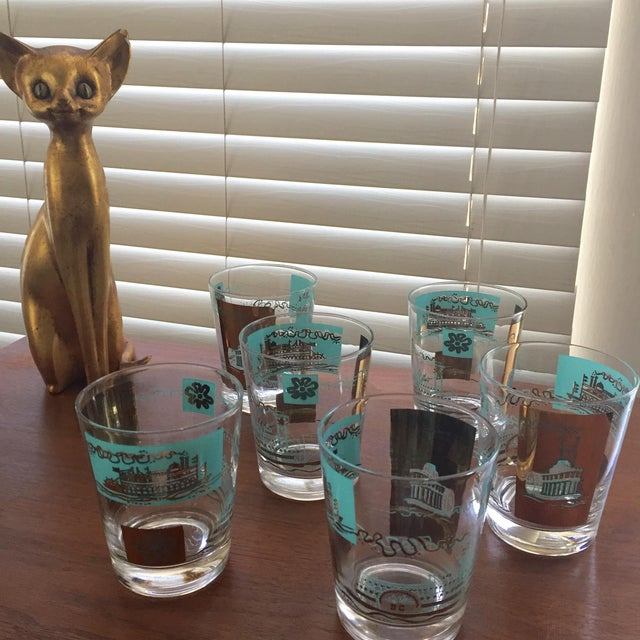 1968 Libbey Riverboat Old-Fashioned Glasses - Set of 6 - Image 6 of 6