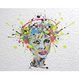 "Alea Pinar Du Pre ""Blondie"" Original Painting For Sale"