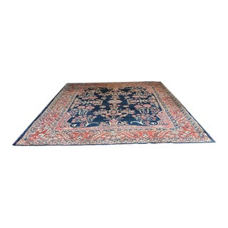 Early 20th Century Antique Persian Ferahan Sarouk Rug - 8′10″ × 11′10″ For Sale