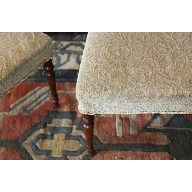 English Early 19th Century Inlaid Sheraton Chairs- a Pair For Sale - Image 3 of 7