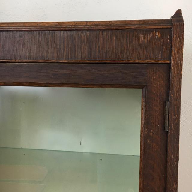 Antique Oak Medical Cabinet For Sale In Philadelphia - Image 6 of 8