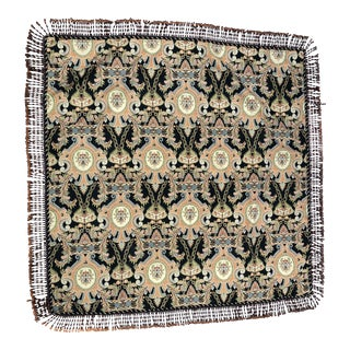 Tapestry Fabric Table Topper For Sale