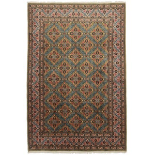 "Asian Style Persian Area Rug - 6'6"" x 9'10"" For Sale"