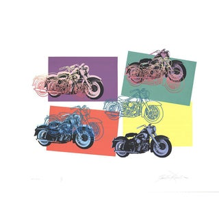 Friedbert Renbaum, Harley X 6, 1994, Serigraph-Signed For Sale