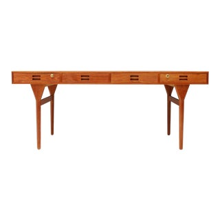 Nanna Ditzel Teak Desk With Four Drawers, Søren Willadsen 1958 For Sale