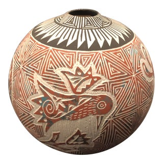 Stephanie Antonio Acoma Vase from New Mexico For Sale