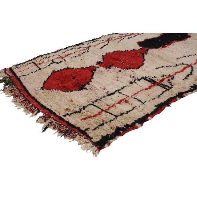 Abstract 20th Century Moroccan Berber Runner For Sale - Image 3 of 4