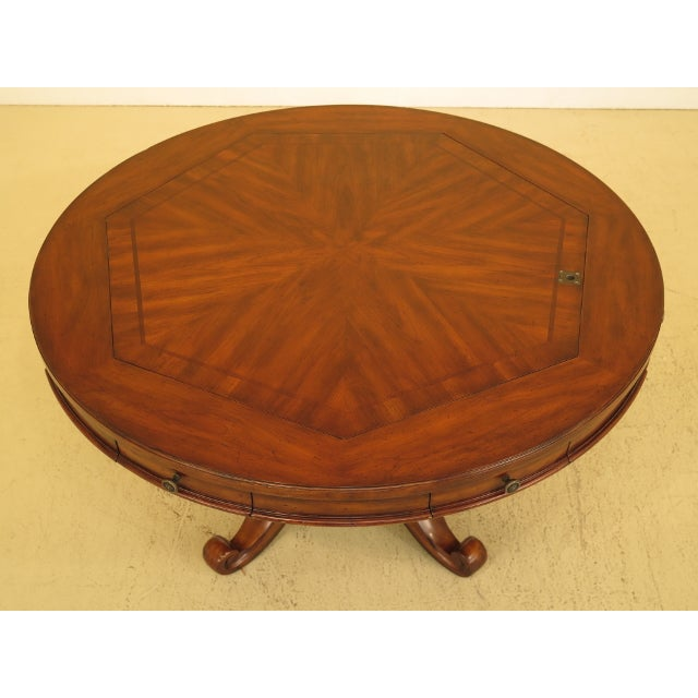 Artistica Round Card Poker Games Table Age: Approx: 10 Years Old Details: Quality Construction 7 Pull Out Drawers w. Felt...