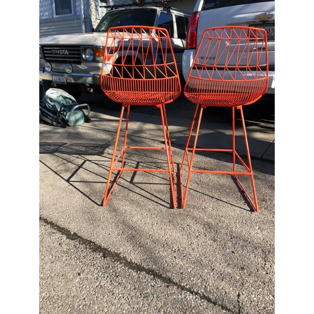Two (2) Bend Goods Lucy Counter Stool featuring the same pattern as the best-selling Lucy Side Chair. The Lucy Counter...