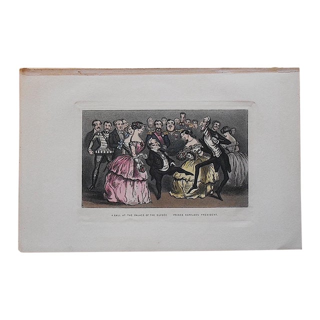 Antique Revolutionary France Engraving - Image 1 of 3