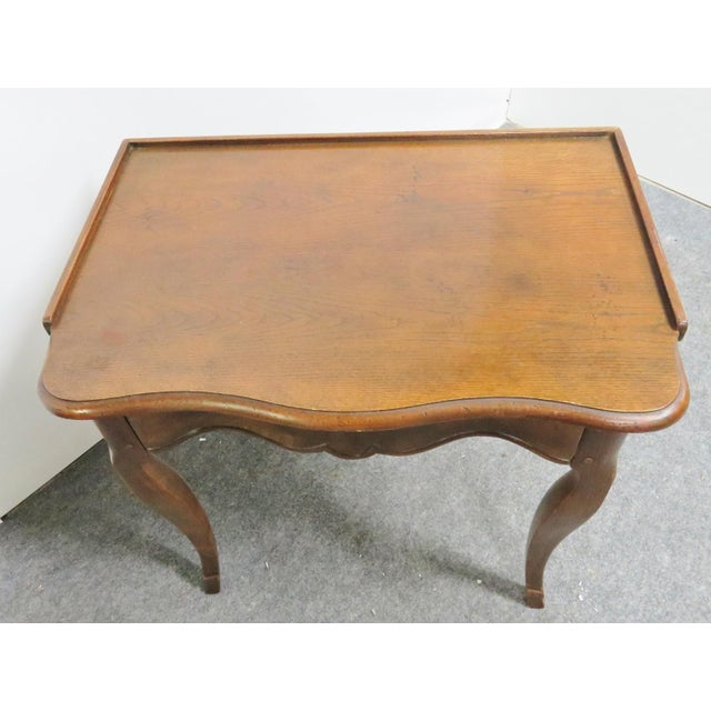 Louis XV Baker Walnut Nightstand For Sale In Philadelphia - Image 6 of 9