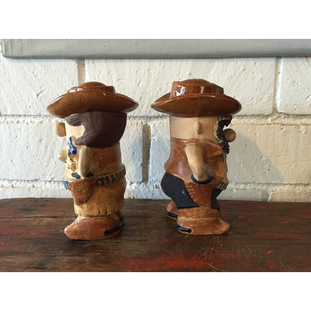 Cowboy & Cowgirl Salt and Pepper - A Pair - Image 5 of 8