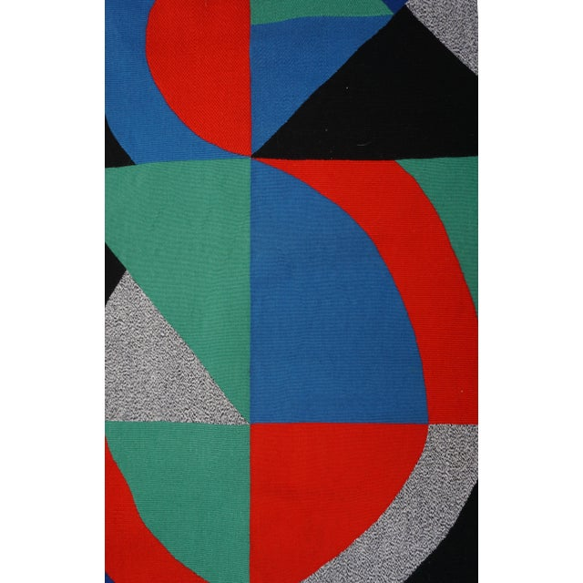 """BACK TO TOP FRANÇAIS/ENGLISH SD3 SGN32 SGN3 Sonia Delaunay """"Grande Icône"""" Sonia Delaunay (1885 – 1979) GRANDE ICÔNE Signed..."""