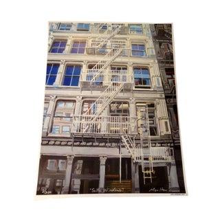 SoHo Windows, Giclee Print For Sale
