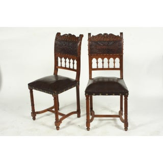 Late 19th-C. French Henry II-Style Chairs, S/6 Preview