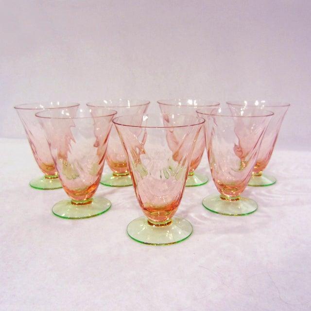 Optic Juice Glasses - Set of 7 - Image 2 of 5