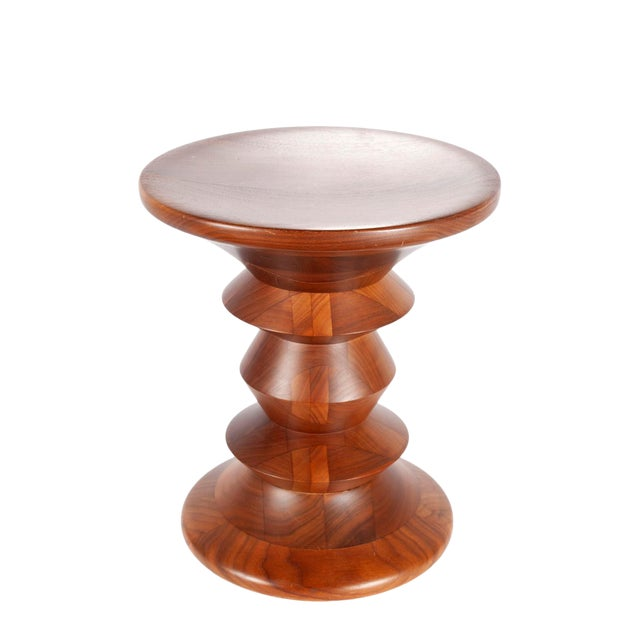 1970s Mid-Century Modern Charles and Ray Eames Time Life Stool For Sale