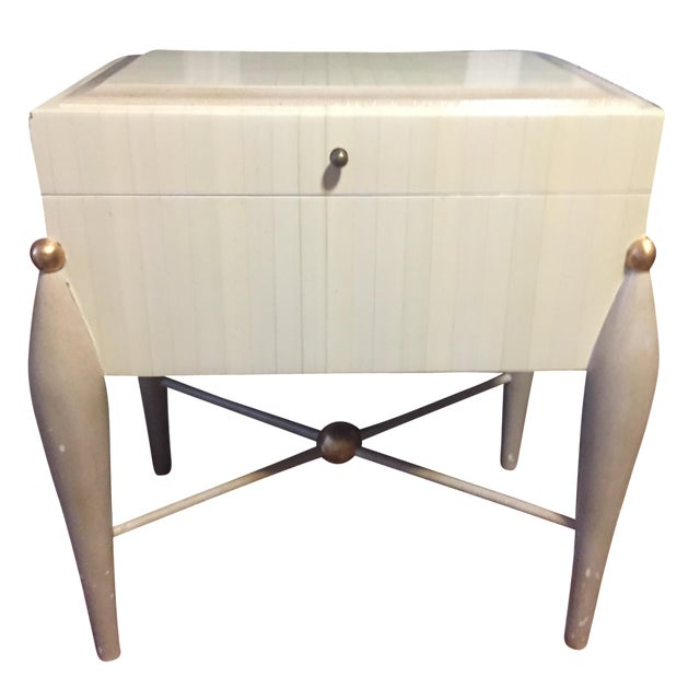Mid-Century Hollywood Regency Side Table - Image 1 of 6