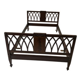 Antique French Style Mahogany Daybed 79 X 42 X18h For Sale