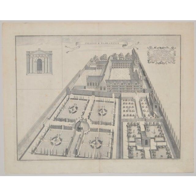 Rare Birdseye View of Wadham College Engraving - Image 10 of 10