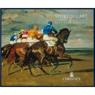"""""""Start of a Horse Race"""" For Sale"""