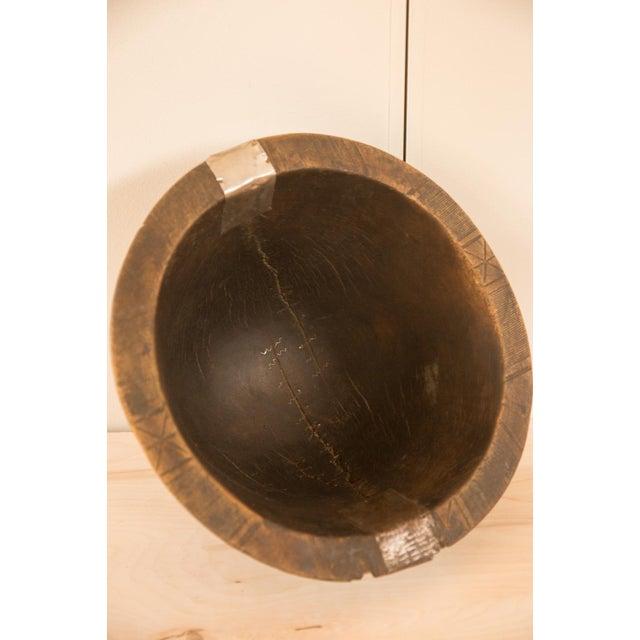 Vintage Wooden African Bowl - Image 9 of 10