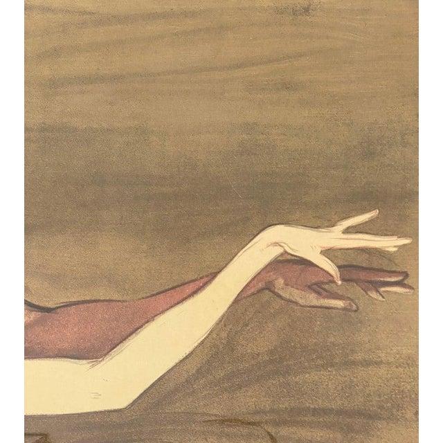 "Vintage Art Deco ""Emmy Magliani"" Ballet Poster For Sale - Image 10 of 13"