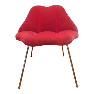 Modern Pop Art Pink Lip Chair
