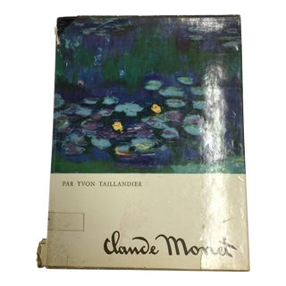 Claude Monet by Yvon Taillandier 1967 For Sale