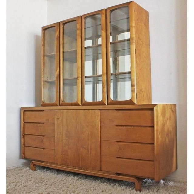 Mid-Century Rare Edmund Spence Bar or Wall Unit - Image 3 of 5