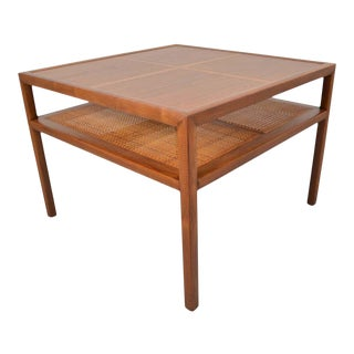 Michael Taylor for Baker Furniture Square Cocktail Table For Sale