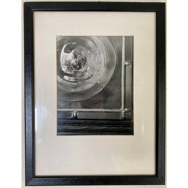 1970s 1970s Vintage Industrial Theme Artistic Window Photograph Signed by T. Bakowski For Sale - Image 5 of 5
