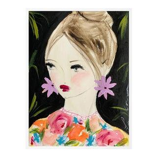 Almost September by Leslie Weaver in White Frame, Small Art Print For Sale