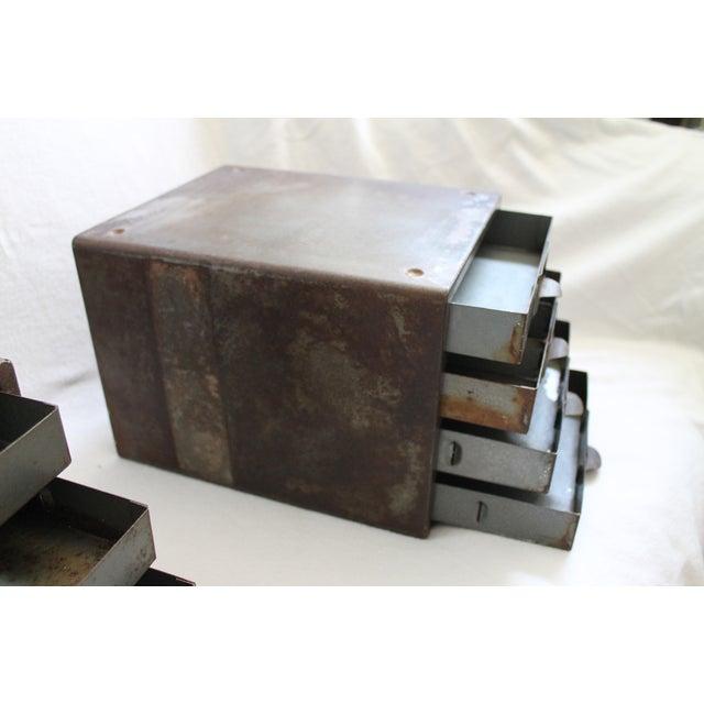 Industrial Metal Storage Desktop Cabinets - Image 9 of 11