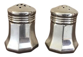 Image of English Traditional Salt and Pepper Shakers
