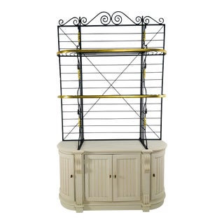 Thomasville Mid-Century Bakers Rack, 1979 For Sale